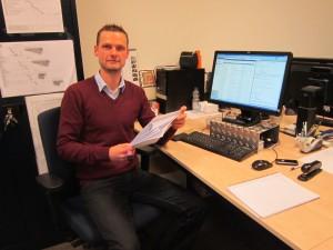 Dennis Frankot - projectleider+hoofd calculatie.+constructeur